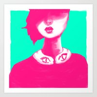 Contemporary Collar Art Print