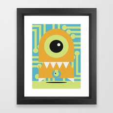 NANOBOT Framed Art Print