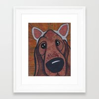 Kitty Puppy Framed Art Print
