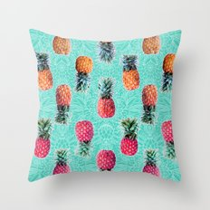 From Pineapple To Pink -… Throw Pillow