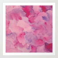 Beth Rose Watercolor Art Print