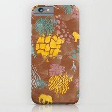 Animal Print Slim Case iPhone 6s
