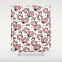 Dough! Shower Curtain