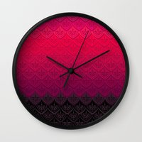 ELENA PATTERN - FLAMENCO… Wall Clock