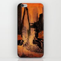 City Building Site iPhone & iPod Skin
