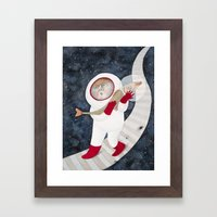 Crosscut Framed Art Print