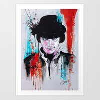 A Clockwork Orange - ALE… Art Print