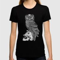 Isolde Womens Fitted Tee Black SMALL