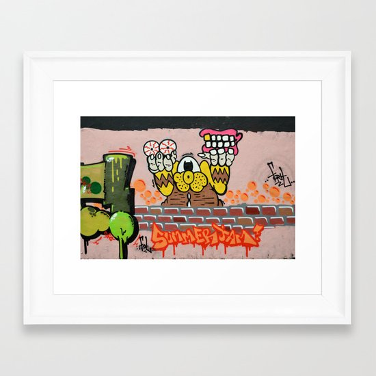 Summerjam Framed Art Print