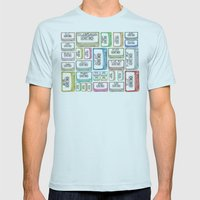 Tape Mix 2 Vintage Casse… Mens Fitted Tee Light Blue SMALL