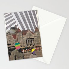 travel weary Stationery Cards