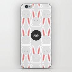 Hello Pets no.4 iPhone & iPod Skin