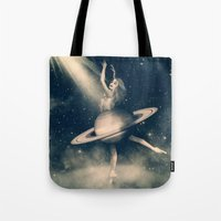 When Saturn Starts Danci… Tote Bag