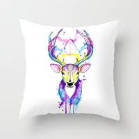 Patronus Harry Potter Throw Pillow