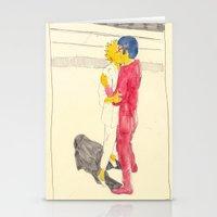Lisa/kei/milhouse/kaneda - Bartkira Stationery Cards