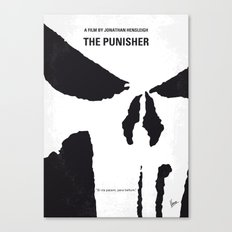 No676 My The Punisher minimal movie poster Canvas Print