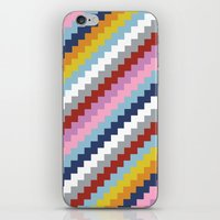 Map Quilt 45 iPhone & iPod Skin