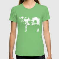 Unless You Need Milk Womens Fitted Tee Grass SMALL