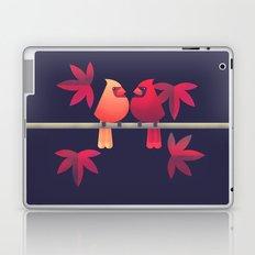 Northern Cardinals on a Japanese Maple Laptop & iPad Skin