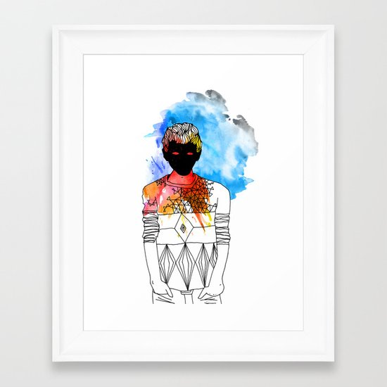 Young Liars 3 Framed Art Print