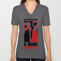 X-Wing style Unisex V-Neck