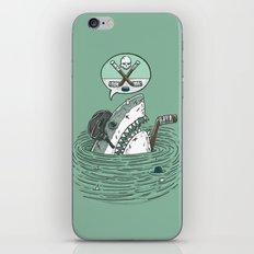 The Enforcer Shark iPhone & iPod Skin