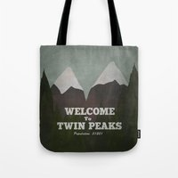 Welcome to Twin Peaks Tote Bag