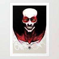 Arlecchino AD.2010 Art Print