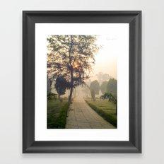 Pathway Framed Art Print