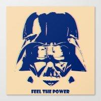 Feel The Power Canvas Print