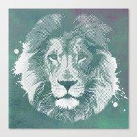 Lion's mark Canvas Print