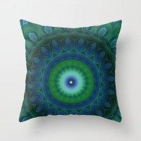 Mandala 11 Throw Pillow