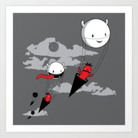 Acute Invasion Art Print