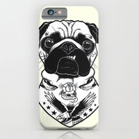 Tattooed Dog - Pug iPhone 6 Slim Case