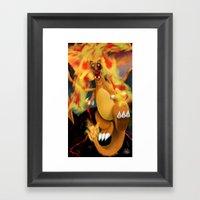 Fire Blast! Framed Art Print