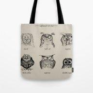 Caffeinated Owls Tote Bag