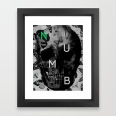 Comfortably Framed Art Print