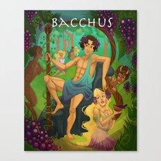 Bacchus  Canvas Print