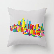 New WTC Isometric Throw Pillow