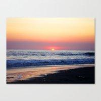 Sunset at Manuel Antonio Canvas Print