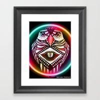Night Hawk Framed Art Print