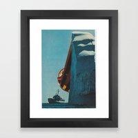 trispace Framed Art Print
