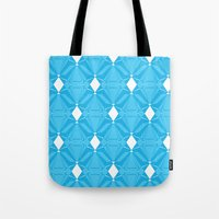 Abstract [BLUE] Emeralds Tote Bag