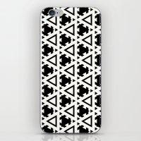 Jeremiassen Black & Whit… iPhone & iPod Skin