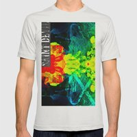 Smoke On The Water Mens Fitted Tee Silver SMALL