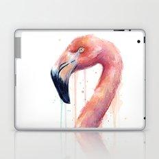 Flamingo Art Watercolor Laptop & iPad Skin