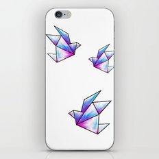 Origami Pastels iPhone & iPod Skin
