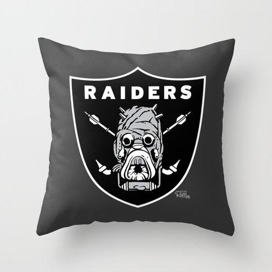 Tusken Raider Nation Pride Throw Pillow