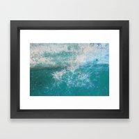 Into The Ocean - JUSTART… Framed Art Print
