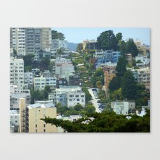 Lombard Street, San Francisco Canvas Print
